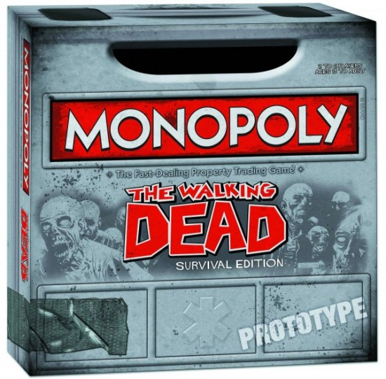 The Walking Dead version Monopoly