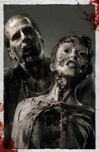 Serie Walking Dead zombie