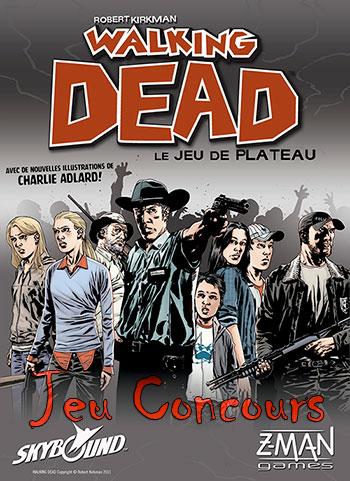 Jeu concours The Walking Dead pour gagner un jeu de plateau The Walking Dead