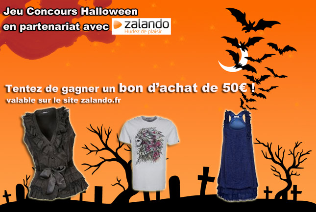 jeu concours halloween en partenariat avec zalando gagnez un bon d 39 achat the walking dead. Black Bedroom Furniture Sets. Home Design Ideas