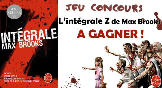 Jeu concours l int grale z gagner le livre de poche - Walking dead livre de poche ...