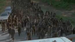 horde zombies The Walking Dead Saison 6